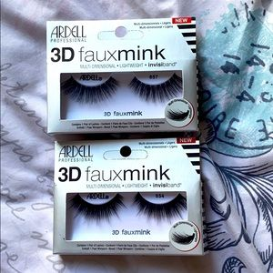 2 pairs of Ardell lashes 3D fauxmink